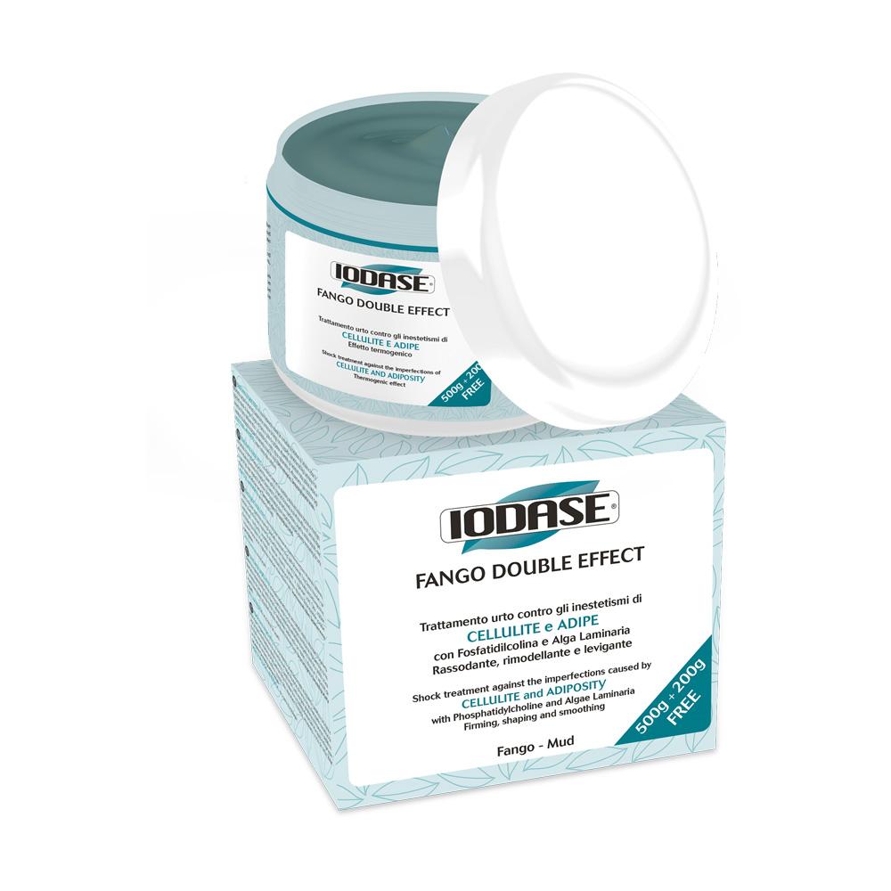 Iodase Грязь косметическая Fango Double Effect, 700 г0510Крем-грязь для тела против целлюлита и жировых отложений с ламинарией и фосфатидилхолином. Новое натуральное средство для коррекции фигуры: благодаря осмотическим свойствам грязи (вывод шлаков, токсинов, излишков застойной жидкости), введению в состав Фосфатидилхолина (натуральный растворитель жиров) и органического йода (из ламинарии) крем-грязь эффективно борется с неэстетичными проявлениями целлюлита и дряблой кожей. Грязь также содержит экстракты ананаса, кипариса и плюща, эффективно стимулирующими отток лишней жидкости из межклеточного пространства (отечность), что является первым шагом на пути лечения целлюлита. Крем-грязь обогащена фосфатидилхолином, который проникает в жировые клетки и эффективно стимулирует липолиз (сокращение и вывод содержимого жировых клеток), уменьшая объемы тела. Регулярное применение грязи (курс из 10-12 аппликаций 2-3 раза в неделю) стимулирует обмен веществ, усиливает отток лишней жидкости, повышает тонус кожи. Грязь имеет уникальную форму...