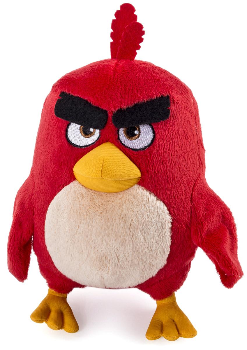 Angry Birds Мягкая игрушка Птица Red 20 см90512_красныйМягкая игрушка Angry Birds Red не оставит равнодушным ни одного поклонника компьютерных игр. Игрушка выполнена из качественных и безопасных материалов в виде сердитой и хмурой птички красного цвета. В игре птичка Red не имеет особых умений, доступна в самом начале игры. В одном из эпизодов получила умение лететь к указанной цели. Является символом Angry Birds. Птичка очень харизматична и приятна на ощупь. Почувствуйте мягкую сторону сердитой натуры!