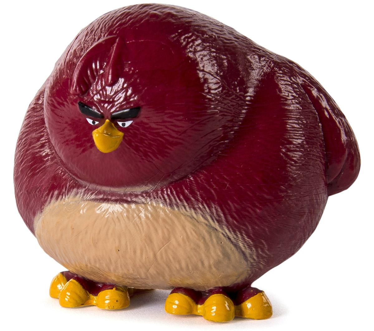 Angry Birds Мини-фигурка Terence90501_TerenceМини-фигурка Angry Birds Terence - подарок для любого поклонника сердитых птичек и зеленых поросят! Высота мини-фигурки 5 см, игрушка выполнена из пластика и очень тщательно детализирована. Фигурка очень ярко и точно отражает характер героя и его эмоции. Теренс очень сильный, из-за чего большинство свиней боится его. Большой брат сторонится других птиц, остается в стороне, но когда надо, он приходит на помощь. Теренс всегда молчит, выглядит хмуро и практически не двигается. Он любит тишину, вечерние прогулки возле озера и участвовать в спортивных соревнованиях. Соберите всю коллекцию смешных персонажей Angry Birds!