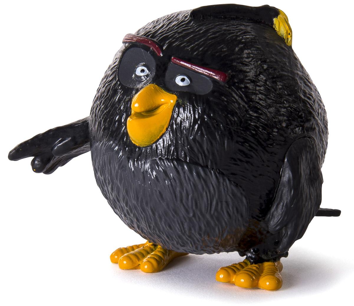 Angry Birds Мини-фигурка Bomb90501_BombМини-фигурка Angry Birds Bomb - подарок для любого поклонника сердитых птичек и зеленых поросят! Высота мини-фигурки 5 см, игрушка выполнена из пластика и очень тщательно детализирована. Фигурка очень ярко и точно отражает характер героя и его эмоции. Бомб - это черная взрывоопасная птичка. Он взрывается, как только начинает на кого-нибудь или что-нибудь злиться. Он очень страдает из-за этого и всеми способами старается избавится от своей особенности. Соберите всю коллекцию смешных персонажей Angry Birds!