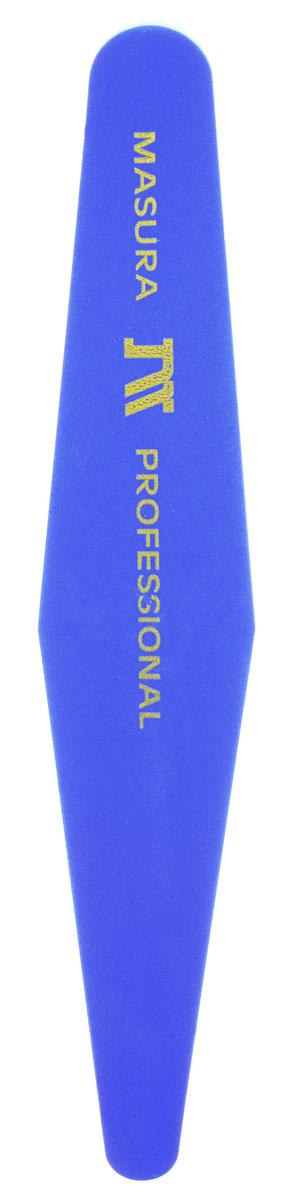 Masura Пилка Samurai Quick Shine, двусторонняя, цвет: синий, желтый610-1Сверхбыстрая полировка натуральных ногтей в маникюре и педикюре. Синяя сторона полировщика зашлифовывает мелкие трещинки ногтевой пластины. Желтая сторона создает устойчивый глянец на ногтях, запечатывает торец ногтя, защищая сухую ногтевую пластину от слоистости. Для полировки одного ногтя достаточно 4-5 движений полировщиком. После использования протереть пилку влажной салфеткой. Пилку можно стерилизовать. Товар сертифицирован.