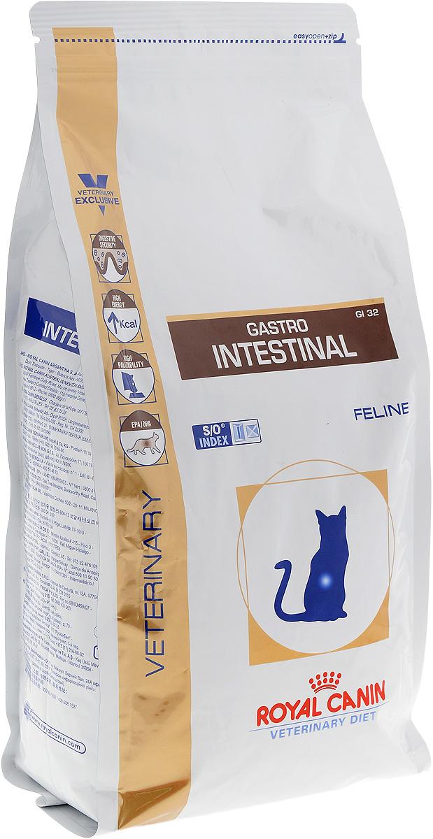 Корм сухой диетический Royal Canin Gastro Intestinal GL32 для кошек, при нарушениях пищеварения, 2 кг27303Royal Canin Gastro Intestinal GL32 - это полнорационный диетический корм для кошек, рекомендуемый при острых расстройствах пищеварения, в реабилитационный период и при истощении. Показания к применению: - острая и хроническая диарея; - плохая переваримость и абсорбция питательных веществ; - пролиферация бактерий в тонком кишечнике; - восстановительный период после болезни; - колит; - Заболевания печени (кроме печеночной энцефалопатии); - Анорексия; - гастрит. Противопоказания: - Печеночная энцефалопатия; - лимфангиэктазия - экссудативная энтеропатия; - панкреатит. Длительность курса применения. Для усиления регенераторной способности ворсинчатого эпителия стенки кишечника при остром воспалительном процессе рекомендуется диетотерапия с минимальным сроком три недели. При хронических заболеваниях может потребоваться назначение диетического корма на протяжении всей жизни животного. Для...