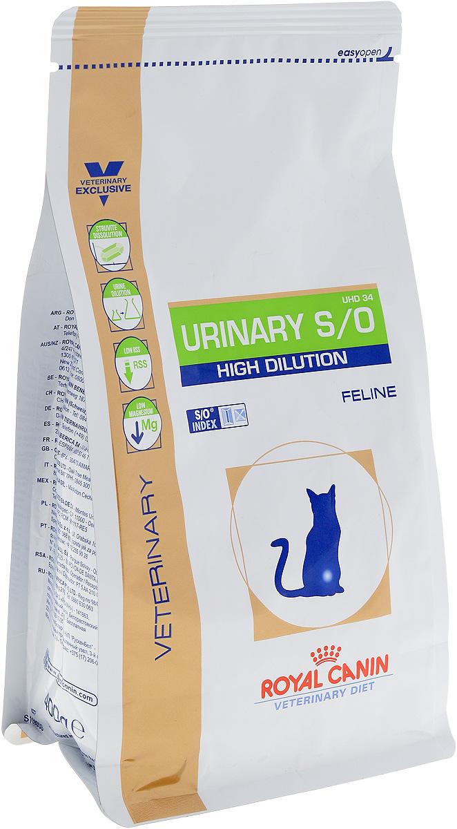 Корм сухой диетический Royal Canin Urinari Hich Dilution UHD34 для кошек, при лечении мочекаменной болезни, 400 г22264Диета для кошек при лечении мочекаменной болезни (быстрое растворение струвитов) Показания: Растворение струвитов Профилактика рецидивов уролитиаза, вызываемого струвитами и оксалатами кальция (рацион животного должен быть ограничен специальной диетой) Примечание: При повторяющемся идиопатическом цистите рекомендуется влажный диетический рацион. Перед назначением пожилым животным Urinary S/O Feline необходимо убедиться в нормальном функционировании их почек. Противопоказания: Беременность, лактация, рост Хроническая почечная недостаточность Метаболический ацидоз Сердечная недостаточность Гипертония Применение лекарственных препаратов, которые используются для подкисления мочи Сухой корм Royal Canin Urinari Hich Dilution UHD34 - полноценный диетический рацион для кошек, рекомендуемый при воспалении нижних отделов мочевыводящих путей. Корм способствует быстрому растворению струвитов и снижает риск их повторного образования. Противопоказания: ...