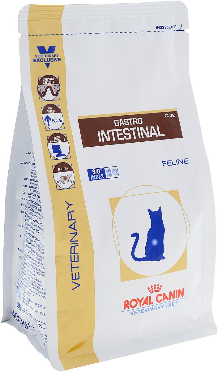 Корм сухой диетический Royal Canin Gastro Intestinal GL32 для кошек, при нарушениях пищеварения, 400 г23522Royal Canin Gastro Intestinal GL32 - это полнорационный диетический корм для кошек, рекомендуемый при острых расстройствах пищеварения, в реабилитационный период и при истощении. Показания к применению: - острая и хроническая диарея; - плохая переваримость и абсорбция питательных веществ; - пролиферация бактерий в тонком кишечнике; - восстановительный период после болезни; - колит; - Заболевания печени (кроме печеночной энцефалопатии); - Анорексия; - гастрит. Противопоказания: - Печеночная энцефалопатия; - лимфангиэктазия - экссудативная энтеропатия; - панкреатит. Длительность курса применения. Для усиления регенераторной способности ворсинчатого эпителия стенки кишечника при остром воспалительном процессе рекомендуется диетотерапия с минимальным сроком три недели. При хронических заболеваниях может потребоваться назначение диетического корма на протяжении всей жизни животного. Для...