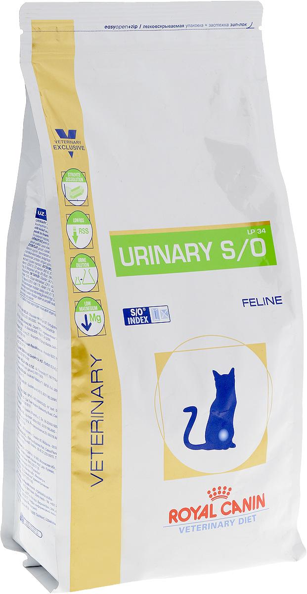 Корм сухой диетичесий Royal Canin Urinary S/O LP34 для кошек, при заболеваниях мочекаменной болезнью, 1,5 кг60764Royal Canin Urinary S/O LP34 - полноценный диетический рацион для кошек, рекомендуемый при лечении и профилактике мочекаменной болезни. Корм способствует быстрому растворению струвитов и снижает риск их повторного образования. Диета для кошек при лечении и профилактике мочекаменной болезни. Показания: - растворение струвитов; - профилактика рецидивов уролитиаза, вызываемого струвитами и оксалатами кальция. Противопоказания: - беременность, лактация, рост; - хроническая почечная недостаточность; - метаболический ацидоз; - сердечная недостаточность; - гипертония; - применение лекарственных препаратов, которые используются для подкисления мочи. Состав: дегидратированные белки животного происхождения (птица), рис, злаки, изолят растительных белков, растительная клетчатка, гидролизат белков животного происхождения, минеральные вещества, свекольный жом, рыбий жир, дрожжи, соевое масло,...
