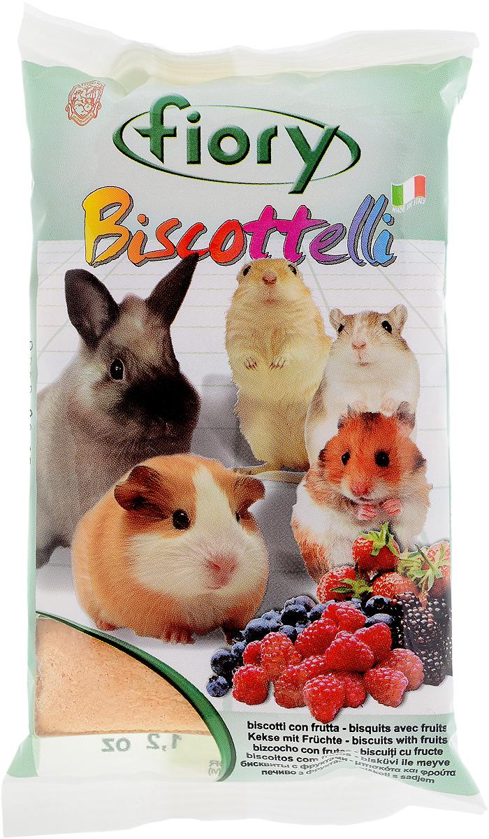 Бисквиты для грызунов Fiory Biscottelli, с фруктами, 35 г2020Бисквиты для грызунов Fiory Biscottelli - источник редких витаминов и микроэлементов. Они состоят из яиц, сахара и злаков, а также аппетитных фруктов, которые непременно оценит ваш маленький грызун. Подарите своему питомцу питательное и полезное лакомство. Состав: злаковые, 30% продукты животного происхождения и производные продуктов, 27% сахар, 4,1% фрукты, мед, минеральные вещества, ароматы и продукты, красители и консерванты в соответствии со стандартами ЕЭС. Товар сертифицирован.