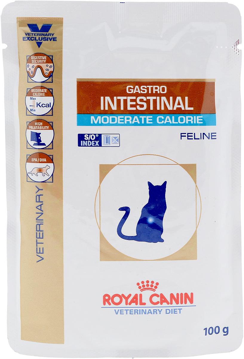 Консервы диетические Royal Canin Gastro Intestinal. Moderate Calorie для кошек, при нарушениях пищеварения, c пониженным содержанием жира, 100 г22328Royal Canin Gastro Intestinal. Moderate Calorie - это полнорационные диетические консервы для кошек с пониженным содержанием жира, рекомендуемый при острых расстройствах пищеварения. Показания к применению: - острая и хроническая диарея; - плохая переваримость и абсорбция питательных веществ; - пролиферация бактерий в тонком кишечнике; - Хроническое воспаление кишечника; - колит; - Заболевания печени (кроме печеночной энцефалопатии); - Панкреатит; - Экссудативная энтеропатия; - гастрит. Длительность курса применения. Для усиления регенераторной способности ворсинчатого эпителия стенки кишечника при остром воспалительном процессе рекомендуется диетотерапия с минимальным сроком три недели. При хронических заболеваниях может потребоваться назначение диетического корма на протяжении всей жизни животного. Для оптимальной работы пищеварительной системы необходимо соблюдение суточного рациона и...