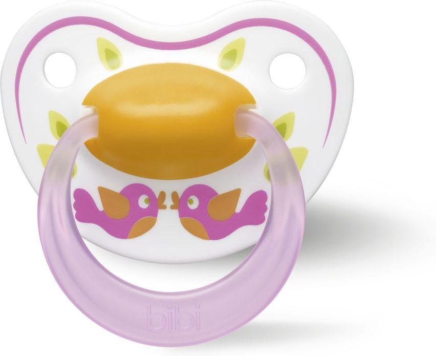 Bibi Пустышка силиконовая Premium Dental Happiness Play With Us от 6 до 16 месяцев
