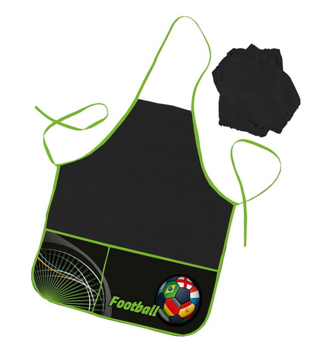 Hatber Фартук для труда с двумя карманами Football ( NFn_02064 )