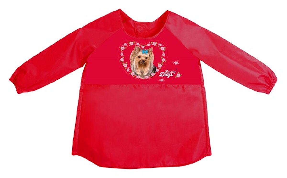 Hatber Фартук-накидка с рукавами для труда Hatber Love Dogs