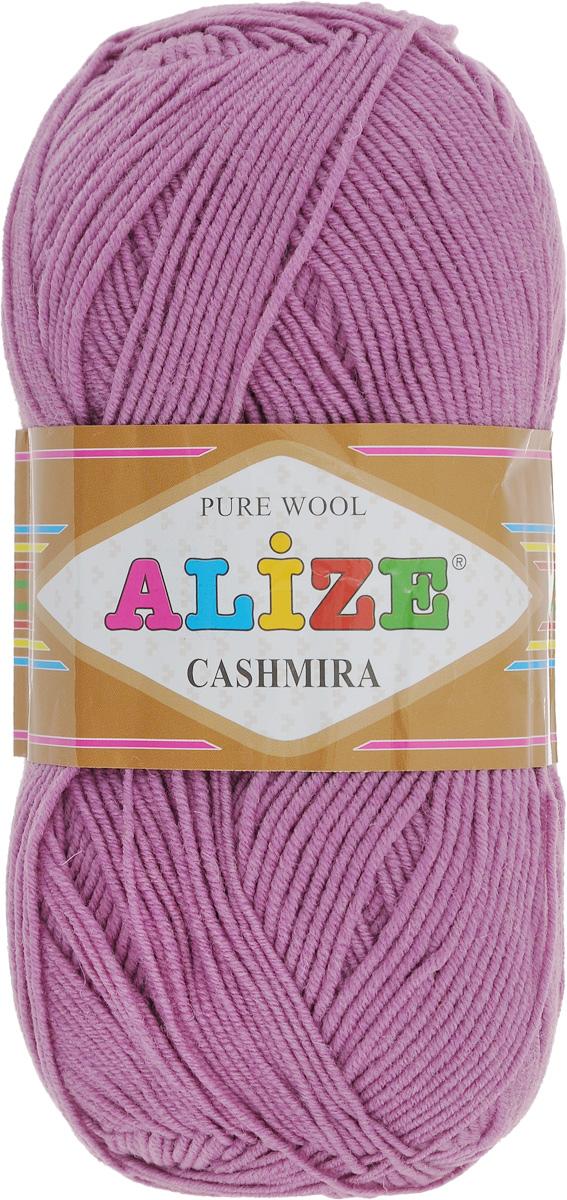 Пряжа для вязания Alize Cashmira, цвет: сухая роза (28), 300 м, 100 г, 5 шт364009_28Пряжа для вязания Alize Cashmira изготовлена из 100% шерсти. Пряжа упругая, эластичная, тёплая, уютная и не колется, что очень подходит для детей. Тоненькая нитка прекрасно подойдет для вязки демисезонных вещей. Пряжа легко распускается и перевязывается несколько раз, не деформируясь и не влияя на вид изделия. Натуральная шерстяная нить, обеспечивает изделию прекрасную форму. Состав: шерсть 100%. Рекомендуется ручная стирка при температуре 30 °C. Рекомендованные спицы № 3-5, крючок № 2-4. Комплектация: 5 мотков.