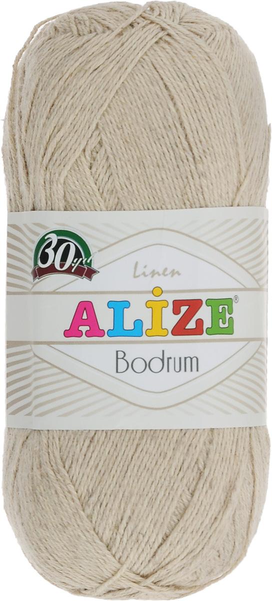Пряжа для вязания Alize Bodrum, цвет: бежевый (509), 280 м, 100 г, 5 шт697547_509Пряжа для вязания Alize Bodrum с натуральной цветовой гаммой подходит для ручного вязания детям и взрослым. Приятная на ощупь нить сочетает в себе лен и полиэстер. Такая пряжа идеально подойдет для вязания весенних и летних изделий. Рекомендованные спицы 3-5 мм и крючок для вязания 2-3 мм. Состав: 48% лен, 52% полиэстер. Рекомендована ручная стирка.