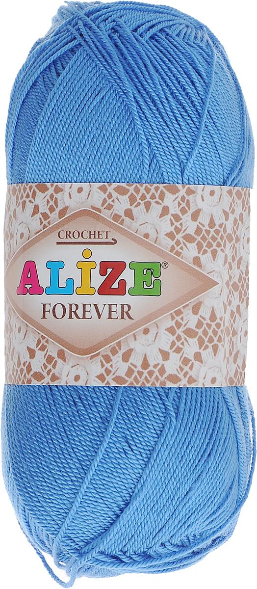 Пряжа для вязания Alize Forever, цвет: синий (140), 300 м, 50 г, 5 шт367022_140Пряжа Alize Forever - это тщательно обработанная акриловая пряжа, которая приобретает вид мерсеризованной нити. Классическая пряжа, прочная, мягкая и шелковистая. Большое разнообразие цветов и оттенков от спокойных до ярких позволяет подобрать пряжу для вязания на любой вкус. Предназначена для вязания летних и весенних вещей и прекрасно подойдет как для спиц, так и для крючка. Изделия получаются очень красивыми и нарядными и при этом комфортными в носке. Рекомендованные спицы: 2-3,5 мм. Рекомендованный крючок: 0,75-1,5 мм. Состав: 100% акрил.