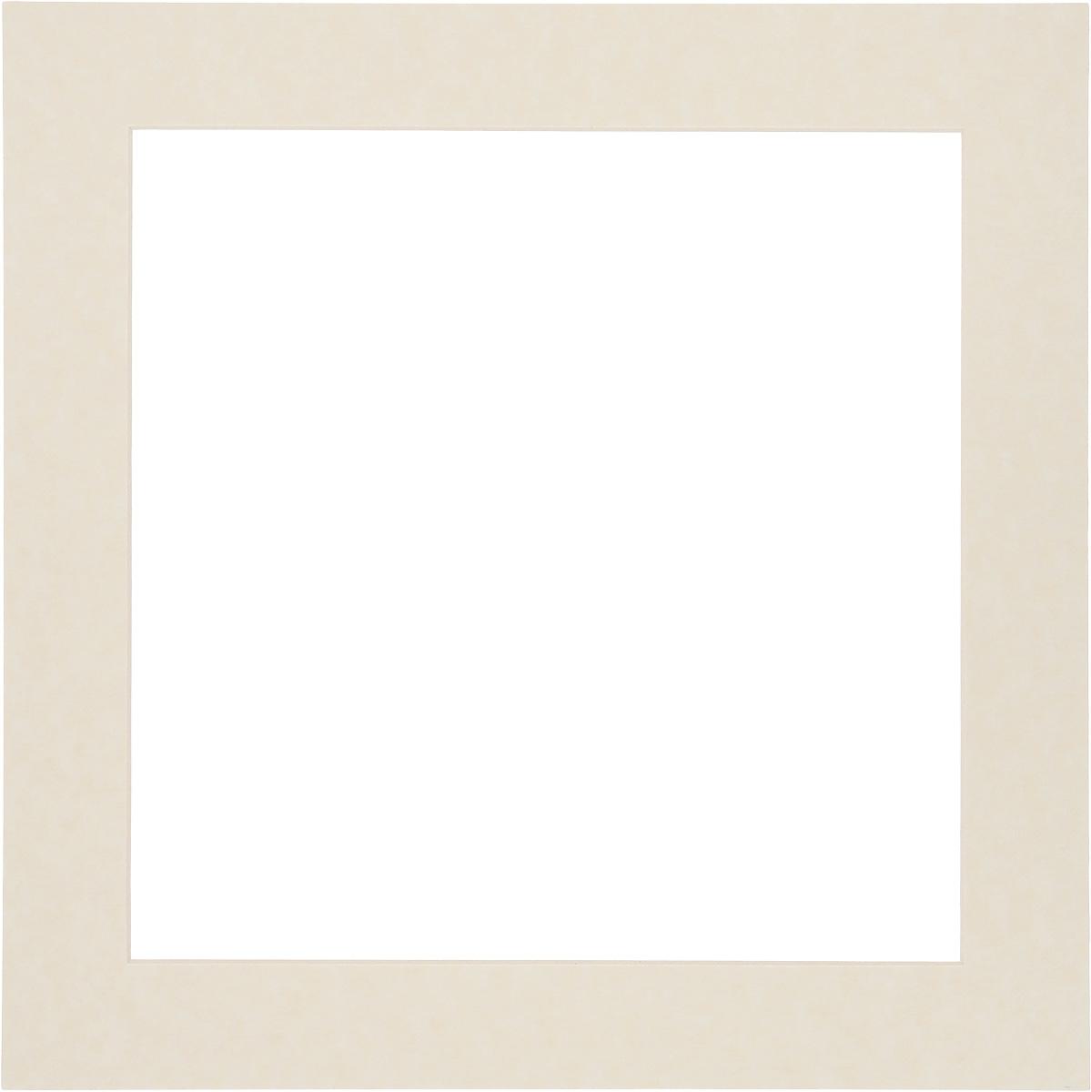 Паспарту Василиса, цвет: светло-бежевый, 35 х 35 см581255Паспарту Василиса, изготовленное из плотного картона, предназначено для оформления художественных работ и фотографий. Оно располагается между багетной рамой и изображением, делая акцент на фотографии, усиливая ее визуальное восприятие. Кроме того на паспарту часто располагают поясняющие подписи, автограф. Внешний размер: 35 х 35 см. Внутренний размер: 27 х 27 см.