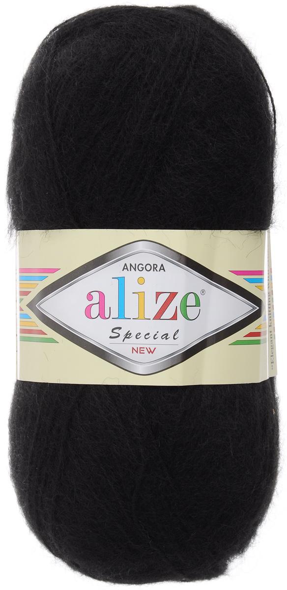 Пряжа для вязания Alize Angora Special New, цвет: черный (60), 550 м, 100 г, 5 шт497057_60Alize Angora Special - это ровная, тонкая и пушистая пряжа, изготовленная из 51% акрила, 24% шерсти, 25% мохера. Нить не вытягивается, достаточно прочная и крепкая. Такая пряжа идеально подойдет для вязания зимних вещей (шарфов, жилетов, пуловеров), с различными ажурными узорами. Вещи, связанные из этой пряжи, хорошо и долго носятся, не выгорают и не линяют. Предназначена для ручного вязания спицами и крючком. Рекомендуемый размер спиц: № 3-5 мм. Рекомендованный размер крючка: № 1-3 мм. Состав: 51% акрил, 24% шерсть, 25% мохер.