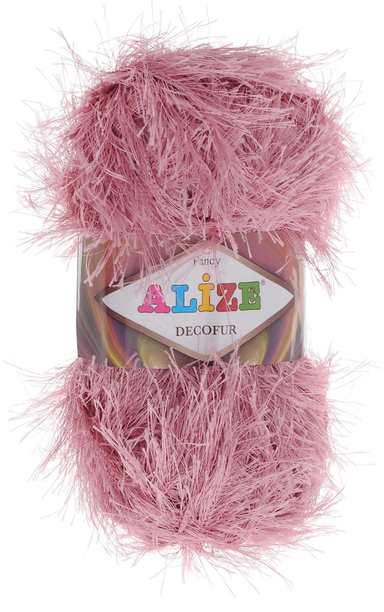 Пряжа для вязания Alize Decofur, цвет: темно-розовый (144), 110 м, 100 г, 5 шт364128_144Пряжа Alize Decofur изготовлена из высококачественного полиэстера. Пряжа - травка используется как для вязания самостоятельных пушистых изделий, так и для отделки. Это могут быть нарядные кофточки, куртки, накидки, шарфы, шапки, шали, предметы домашнего интерьера, игрушки и многое другое. Рекомендованные спицы для вязания: 6-8 мм. Рекомендованный крючок для вязания: 3-4 мм. Комплектация: 5 шт. Состав: 100% полиэстер.