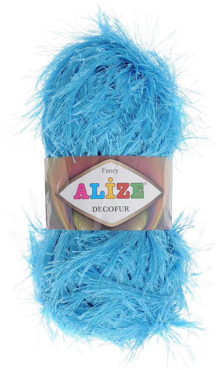 Пряжа для вязания Alize Decofur, цвет: морская волна (245), 110 м, 100 г, 5 шт364128_245Пряжа Alize Decofur изготовлена из высококачественного полиэстера. Пряжа - травка используется как для вязания самостоятельных пушистых изделий, так и для отделки. Это могут быть нарядные кофточки, куртки, накидки, шарфы, шапки, шали, предметы домашнего интерьера, игрушки и многое другое. Рекомендованные спицы для вязания: 6-8 мм. Рекомендованный крючок для вязания: 3-4 мм. Комплектация: 5 шт. Состав: 100% полиэстер.