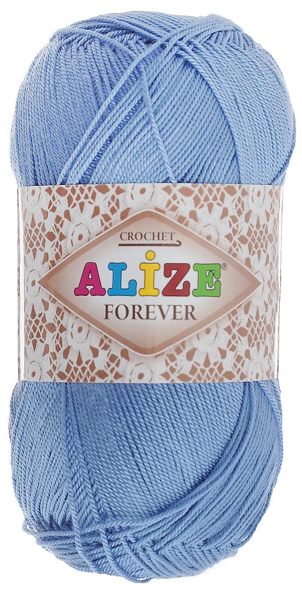 Пряжа для вязания Alize Forever, цвет: ярко-голубой (342), 300 м, 50 г, 5 шт367022_342Пряжа Alize Forever - это тщательно обработанная акриловая пряжа, которая приобретает вид мерсеризованной нити. Классическая пряжа, прочная, мягкая и шелковистая. Большое разнообразие цветов и оттенков от спокойных до ярких позволяет подобрать пряжу для вязания на любой вкус. Предназначена для вязания летних и весенних вещей и прекрасно подойдет как для спиц, так и для крючка. Изделия получаются очень красивыми и нарядными и при этом комфортными в носке. Рекомендованные спицы: 2-3,5 мм. Рекомендованный крючок: 0,75-1,5 мм. Состав: 100% акрил.