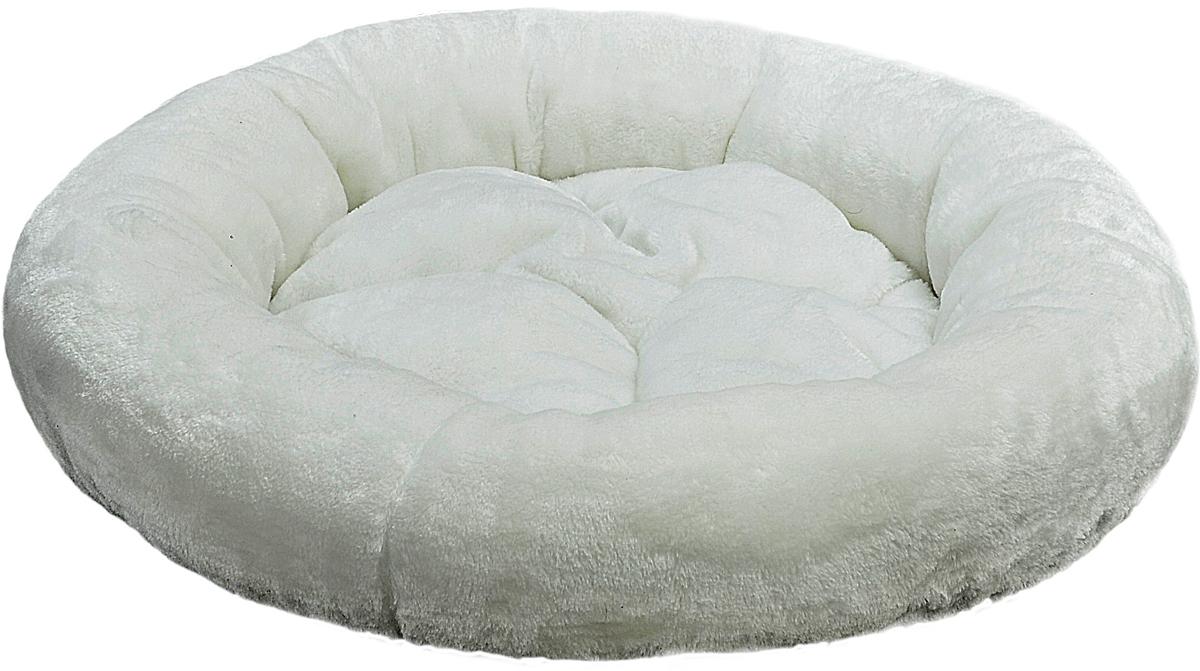 Лежак для животных Зооник, цвет: белый, 48 х 48 х 15 см22302Круглый лежак Зооник непременно станет любимым местом отдыха вашего домашнего животного. Изделие выполнено из высококачественного велюра, а наполнитель - из синтепона. Такой материал не теряет своей формы долгое время. На таком лежаке вашему любимцу будет мягко и тепло. Он подарит вашему питомцу ощущение уюта и уединенности.