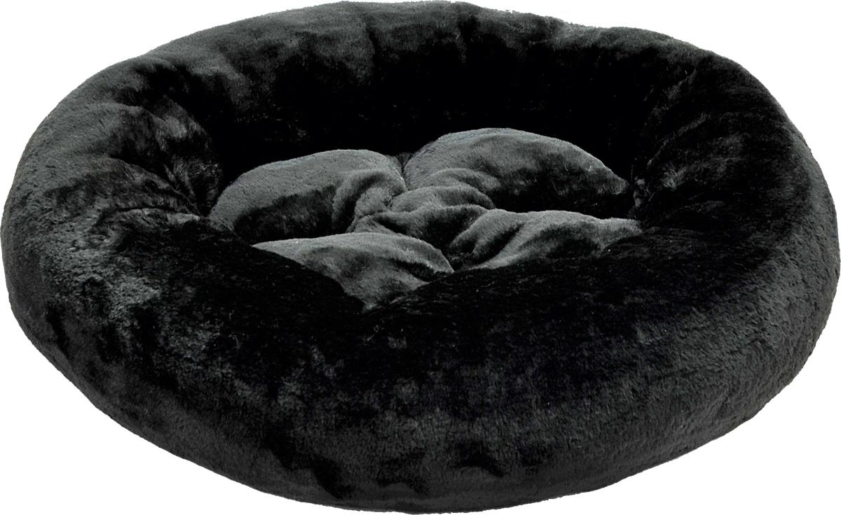 Лежак для животных Зооник, цвет: черный, 48 х 15 см. 2230322303Лежак для животных Зооник прекрасно подойдет для отдыха вашего домашнего питомца. Предназначен для собак мелких пород и кошек. Изделие выполнено из мягкого искусственного меха черного цвета. Лежак снабжен съемной мягкой подушкой. Комфортный и уютный лежак обязательно понравится вашему питомцу, животное сможет там отдохнуть и выспаться. Диаметр лежака: 48 см. Высота лежака: 15 см. Материал: искусственный мех.