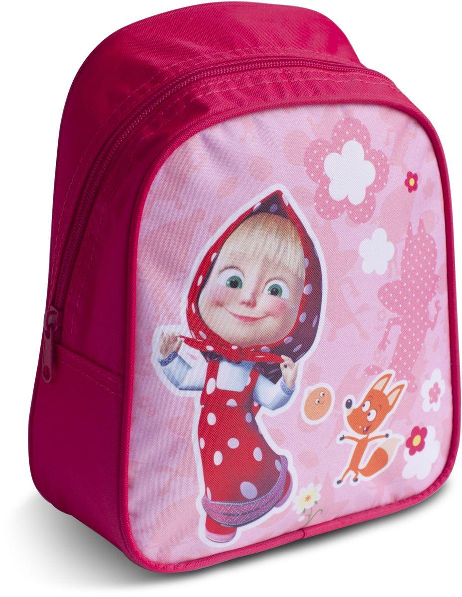 Маша и Медведь Рюкзак дошкольный Маша и лисичкаNMn_10177Дошкольный рюкзак Маша и Медведь Маша и лисичка имеет легкий вес, поэтому ребенку будет с ним очень удобно. Рюкзак содержит одно вместительное отделение на молнии, регулируемые лямки и специальную ручку для размещения на вешалке. Лицевая сторона рюкзака декорирована изображением озорной героини и лисички из мультфильма Маша и Медведь. Изделие изготовлено из износостойкой, водонепроницаемой ткани.
