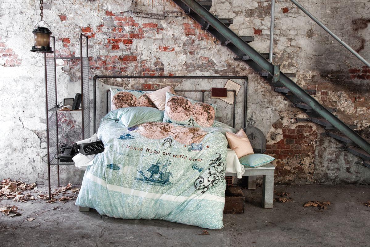 """Комплект белья Issimo Home """"World Travel"""", 1,5-спальный, наволочки 50x70. 5044"""