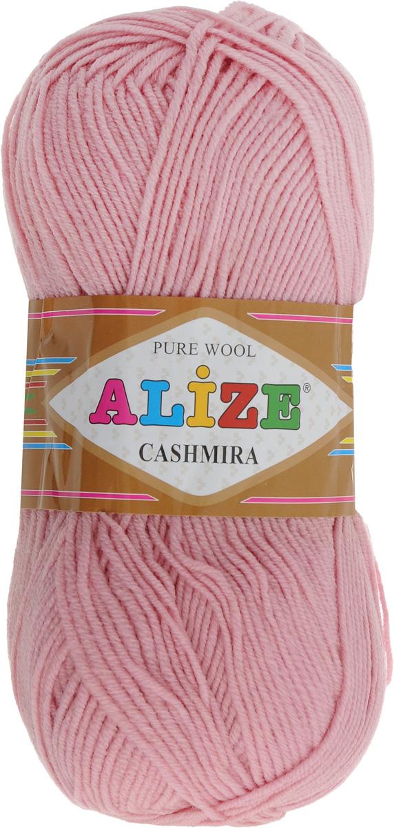 Пряжа для вязания Alize Cashmira, цвет: пудра (161), 300 м, 100 г, 5 шт364009_161Пряжа для вязания Alize Cashmira изготовлена из 100% шерсти. Пряжа упругая, эластичная, тёплая, уютная и не колется, что очень подходит для детей. Тоненькая нитка прекрасно подойдет для вязки демисезонных вещей. Пряжа легко распускается и перевязывается несколько раз, не деформируясь и не влияя на вид изделия. Натуральная шерстяная нить, обеспечивает изделию прекрасную форму. Состав: шерсть 100%. Рекомендуется ручная стирка при температуре 30 °C. Рекомендованные спицы № 3-5, крючок № 2-4. Комплектация: 5 мотков.