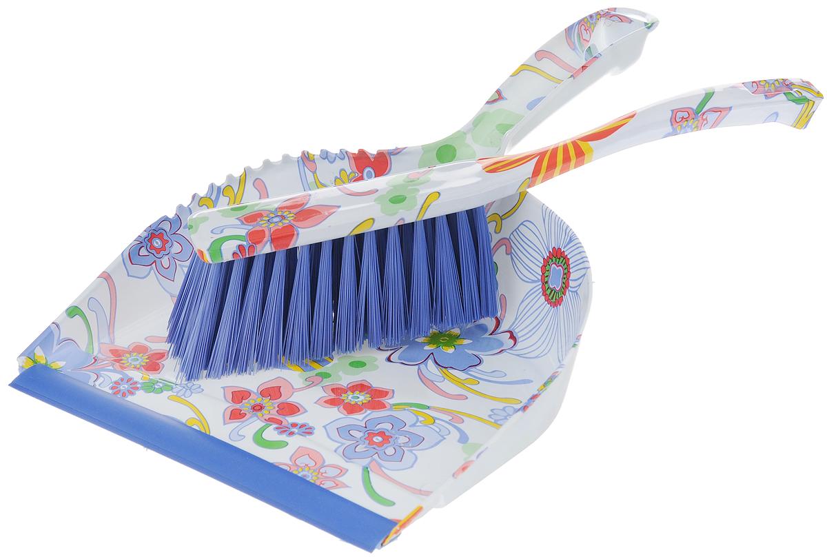 Набор для уборки Фэйт Флора, 2 предмета1.4.02.124Набор для уборки Фэйт Флора состоит из щетки-сметки и совка. Он станет незаменимым помощником в деле удаления пыли и мусора с различных поверхностей. Эластичный ворс на щетке, изготовленный из нейлона, не оставит от грязи и следа. В комплекте - вместительный совок углубленной формы, выполненный из прочного пластика. Удобная форма совка с бордюром, который удерживает собранный мусор, позволит эффективно и быстро совершить уборку в любом помещении. Ручка совка позволяет прикреплять его к рукоятке щетки. На рукоятках изделий имеются специальные отверстия для подвешивания. Длина щетки: 27 см. Длина ворса щетки: 5 см. Размер рабочей поверхности щетки: 13 х 4 см. Размер рабочей поверхности совка: 21 х 19 см. Размер совка (с учетом ручки): 32 х 21 х 9 см.