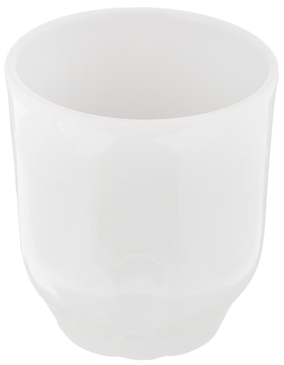 Стакан Белье, 220 мл507769Высокий стакан Белье изготовлен из высококачественного фарфора, оформленного рельефом с внешней стороны. Такой стакан отлично дополнит вашу коллекцию кухонной утвари и порадует вас ярким необычным дизайном и практичностью. Диаметр стакана (по верхнему краю): 7,4 см. Высота стакана: 8 см.
