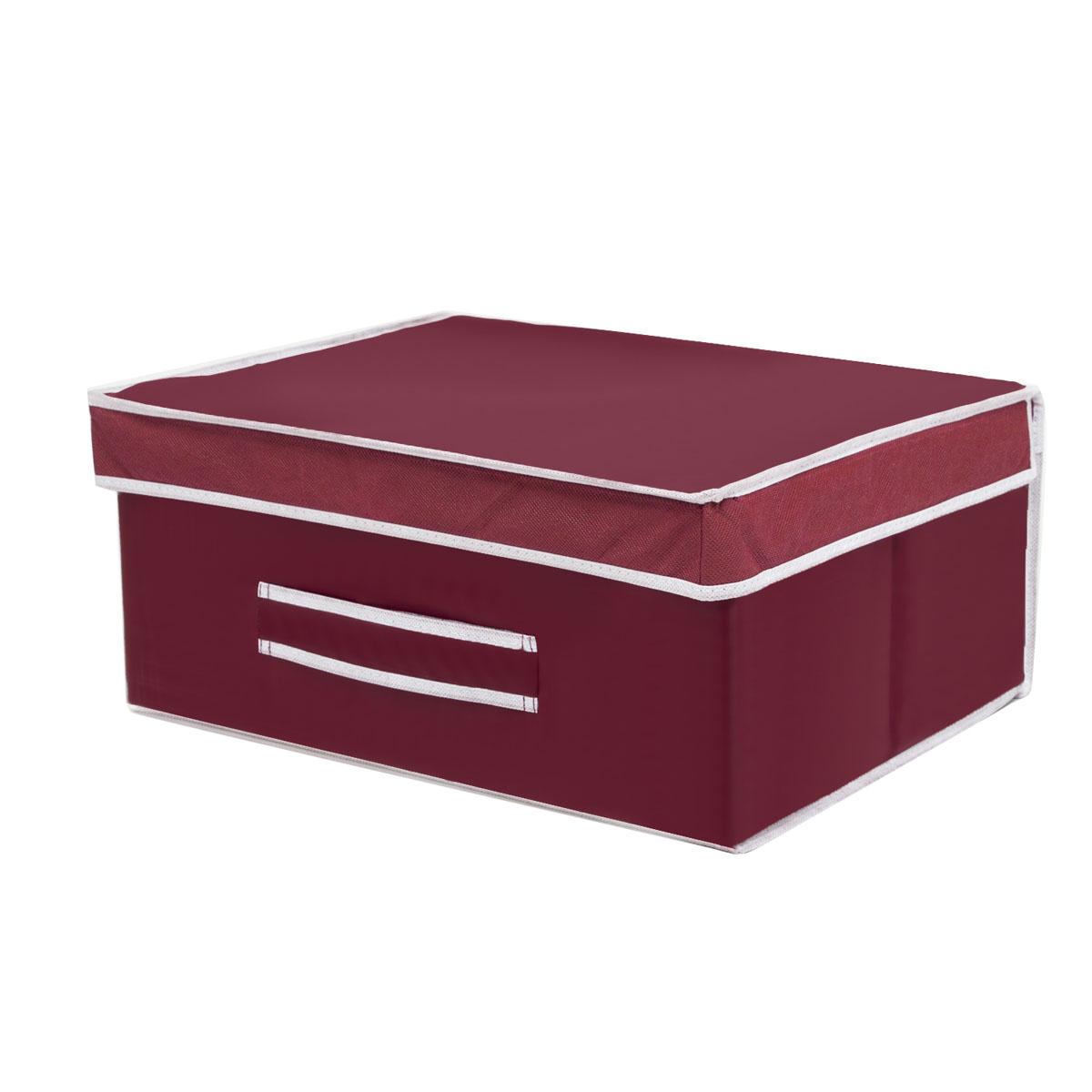 Коробка для хранения Homsu Red Rose, 45 х 37 х 20 смHOM-10Вместительная коробка для хранения Homsu Red Rose выполнена из плотного картона. Изделие обладает удобным размером и привлекательным дизайном, выполненным в приятной цветовой гамме. Внутри коробки можно хранить фотографии, ткани, принадлежности для хобби, памятные сувениры и многое другое. Крышка изделия удобно открывается и закрывается. Коробка для хранения Homsu Red Rose станет незаменимой помощницей в путешествиях.