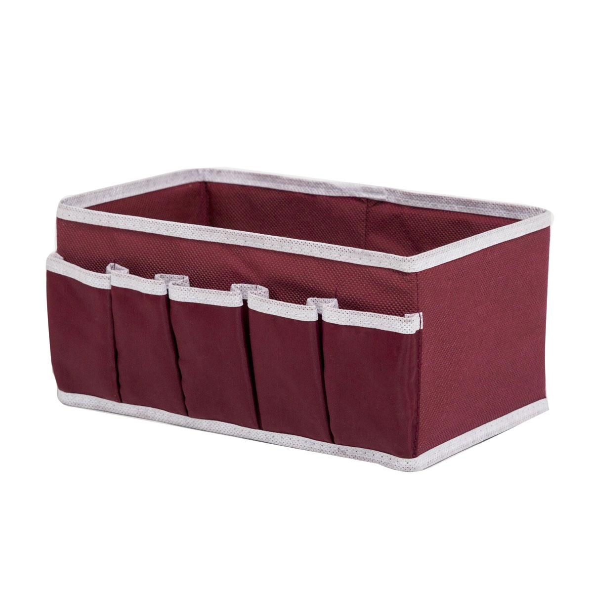 Органайзер для косметики Homsu Red Rose, 25 х 15 х 12 смHOM-15Универсальная коробочка для хранения любых вещей. Оптимальный размер позволяет хранить в ней любые вещи и предметы. Фактический цвет может отличаться от заявленного.