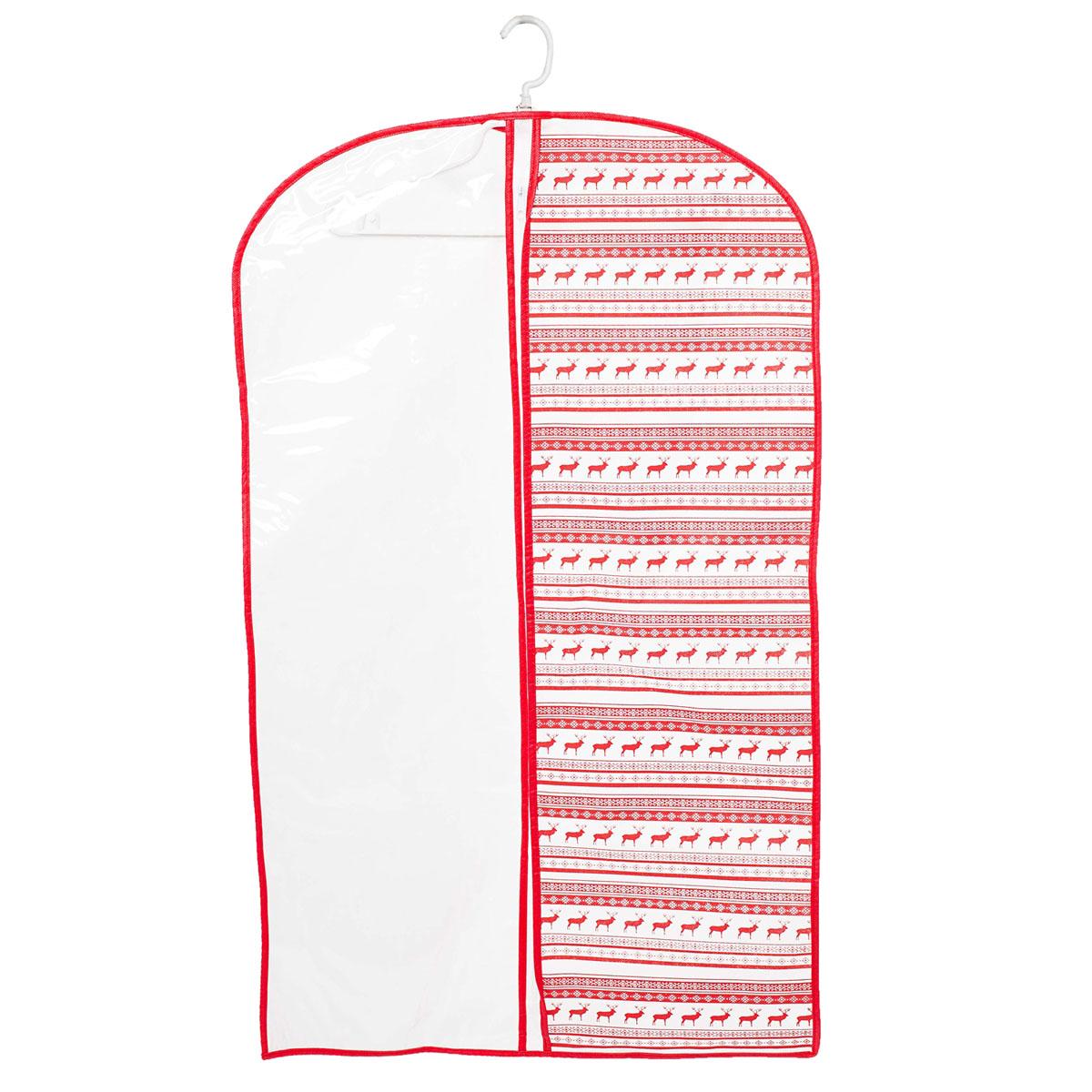 Чехол для одежды Homsu Scandinavia, подвесной, с прозрачной вставкой, 100 х 60 смHOM-203Подвесной чехол для одежды Homsu Scandinavia на застежке-молнии выполнен из высококачественного нетканого материала. Чехол снабжен прозрачной вставкой из ПВХ, что позволяет легко просматривать содержимое. Изделие подходит для длительного хранения вещей. Чехол обеспечит вашей одежде надежную защиту от влажности, повреждений и грязи при транспортировке, от запыления при хранении и проникновения моли. Чехол позволяет воздуху свободно поступать внутрь вещей, обеспечивая их кондиционирование. Это особенно важно при хранении кожаных и меховых изделий. Чехол для одежды Homsu Scandinavia создаст уютную атмосферу в гардеробе. Лаконичный дизайн придется по вкусу ценительницам эстетичного хранения и сделают вашу гардеробную изысканной и невероятно стильной. Размер чехла: 100 х 60 см.