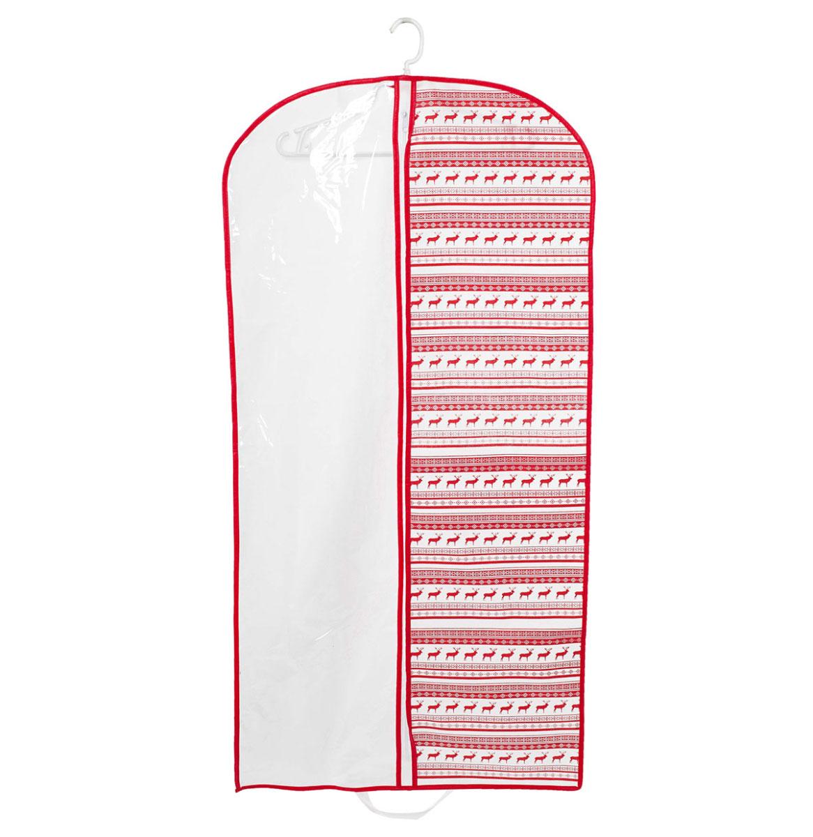 Чехол для одежды Homsu Scandinavia, подвесной, с прозрачной вставкой, 120 х 60 смHOM-204Подвесной чехол для одежды Homsu Scandinavia на застежке-молнии выполнен из высококачественного нетканого материала. Чехол снабжен прозрачной вставкой из ПВХ, что позволяет легко просматривать содержимое. Изделие подходит для длительного хранения вещей. Чехол обеспечит вашей одежде надежную защиту от влажности, повреждений и грязи при транспортировке, от запыления при хранении и проникновения моли. Чехол позволяет воздуху свободно поступать внутрь вещей, обеспечивая их кондиционирование. Это особенно важно при хранении кожаных и меховых изделий. Чехол для одежды Homsu Scandinavia создаст уютную атмосферу в гардеробе. Лаконичный дизайн придется по вкусу ценительницам эстетичного хранения и сделают вашу гардеробную изысканной и невероятно стильной. Размер чехла: 120 х 60 см.