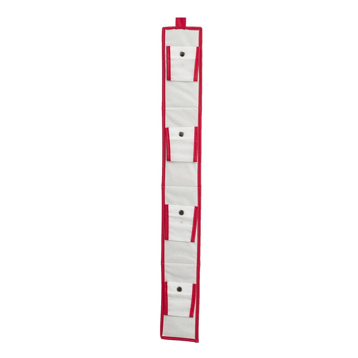 Органайзер для сумок Homsu Scandinavia, 10 х 80 смHOM-229Каждый из нас всегда стремится сохранить свои вещи в полном порядке и именно в том изначальном презентабельном виде, в котором они были в момент приобретения. Подвесной органайзер для сумок - идеальный вариант для этих целей. Благодаря шести раздельным кармашкам на кнопках, он надежно закрепит и сохранит все ваши сумки и клатчи. Фактический цвет может отличаться от заявленного.