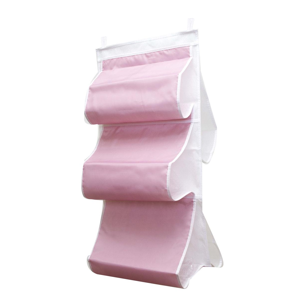 Органайзер для сумок Homsu Capri, 5 отделений, 40 х 70 смHOM-32Органайзер для хранения сумок Homsu Capri изготовлен из полиэстера. Изделие имеет 5 отделений, его можно повесить в удобное место за крючки. Такой компактный и удобный в каждодневном использовании аксессуар, как этот органайзер, размещающийся в пространстве шкафа, на плоскости стены или дверей. Практичный и удобный органайзер для хранения сумок. Размер чехла: 40 х 70 см.