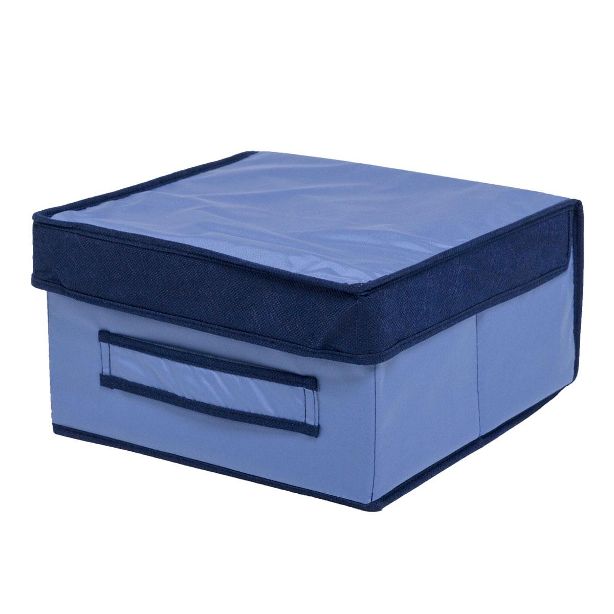 Коробка для хранения Homsu Bluе Sky, 30 х 30 х 16 смHOM-51Вместительная коробка для хранения Homsu Bluе Sky выполнена из плотного картона. Изделие обладает удобным размером и привлекательным дизайном, выполненным в приятной цветовой гамме. Внутри коробки можно хранить фотографии, ткани, принадлежности для хобби, памятные сувениры и многое другое. Крышка изделия удобно открывается и закрывается. Коробка для хранения Homsu Bluе Sky станет незаменимой помощницей в путешествиях.