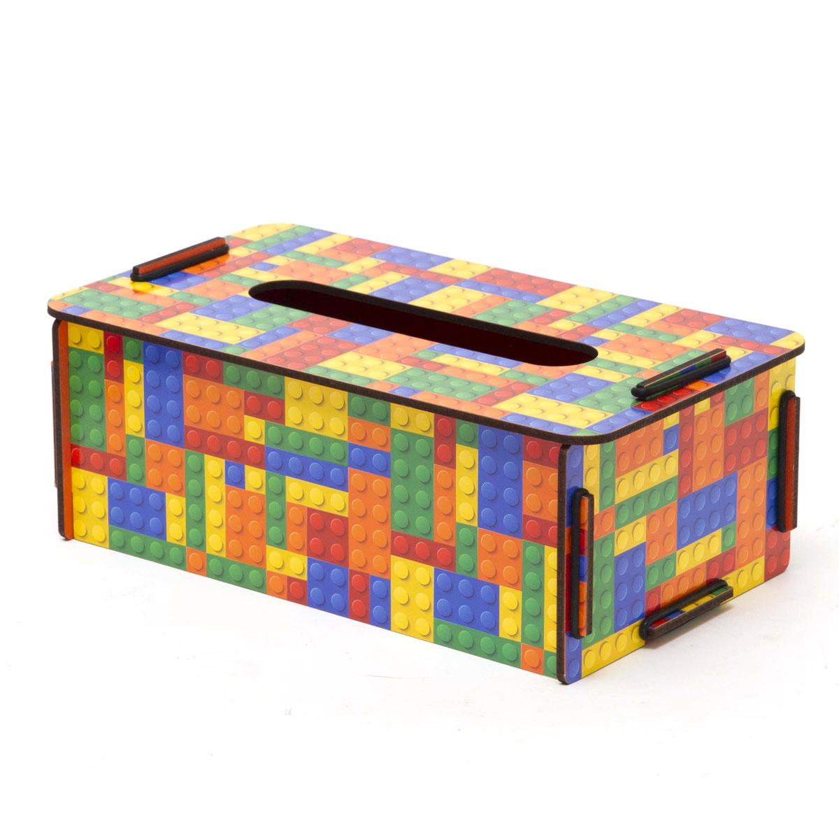 Органайзер настольный Homsu Тетрис, 24 x 14 x 9,5 смHOM-77Оригинальная коробочка представляет собой ящик, изготовленный из МДФ и легко собирающийся, который можно использовать как органайзер для салфеток. Благодаря отделению 10см на 1,5см коробочка для салфеток отлично будет смотреться дома и придаст интерьеру оригинальный стиль. Фактический цвет может отличаться от заявленного.