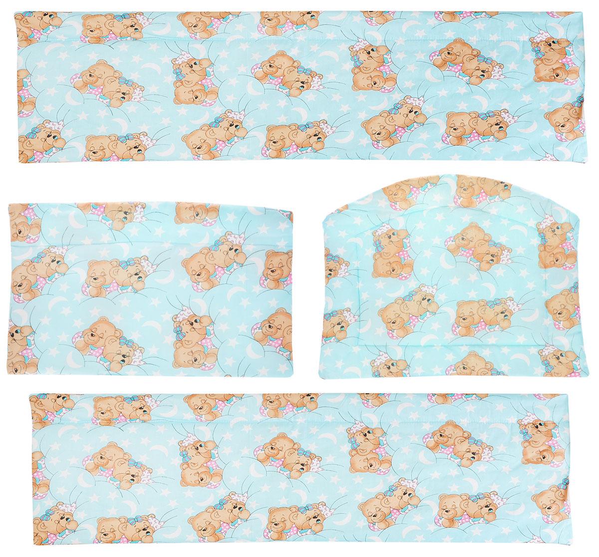 Фея Борт комбинированный Спящие мишки1045_ мишки спятКомбинированный бортик в кроватку Фея Спящие мишки выполнен из высококачественных материалов. Бортик защитит малыша от сквозняков, а когда ребенок подрастет и начнет вставать самостоятельно, предохранит его от ударов при возможных падениях. Малыш с удовольствием будет разглядывать забавные рисунки, красочный бортик в кроватку выполняет эстетическую функцию, делая внешний вид кроватки еще прекраснее. Бортик обеспечит изолированность и уют внутри кроватки для малыша во время его отдыха.