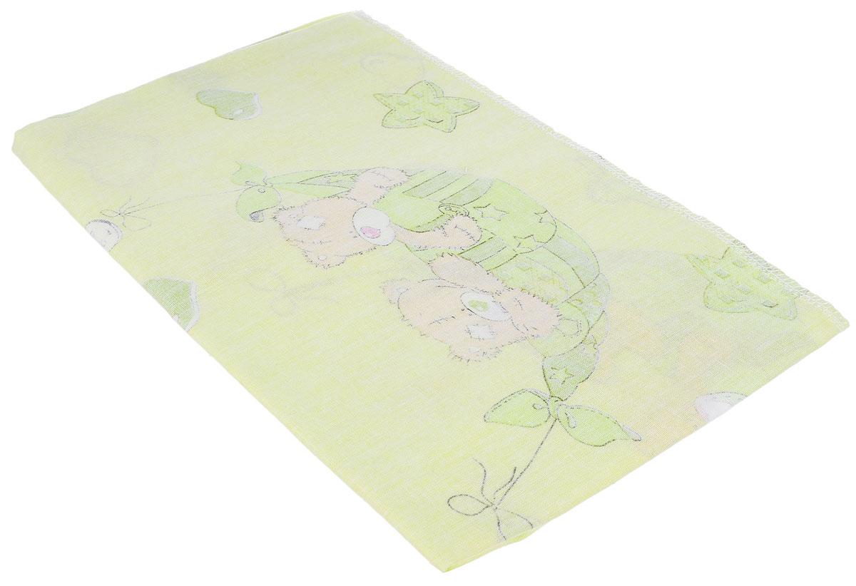 Фея Наволочка детская Мишки цвет светло-зеленый 40 см х 60 см0001056-4_светло-зеленыйДетская наволочка Фея Мишки, идеально подойдет для подушки вашего малыша. Изготовленная из натурального 100% хлопка, она необычайно мягкая и приятная на ощупь. Натуральный материал не раздражает даже самую нежную и чувствительную кожу ребенка, обеспечивая ему наибольший комфорт. Приятный рисунок наволочки, несомненно, понравится малышу и привлечет его внимание. На подушке с такой наволочкой ваша кроха будет спать здоровым и крепким сном. Уход: стирка при 40 °C, гладить при температуре не выше 150 °C, нельзя отбеливать, не подлежит химчистке.