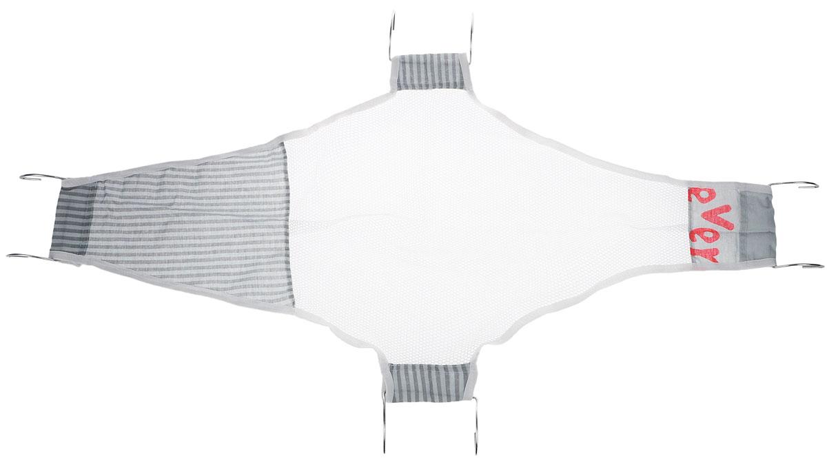 Фея Подставка для купания Гамак цвет белый серый