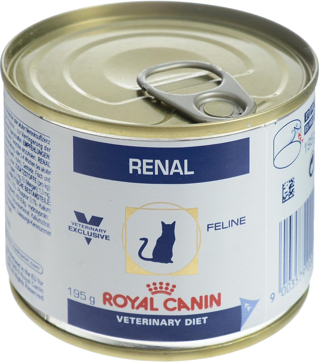 Консервы для кошек Royal Canin Renal, с почечной недостаточностью, с курицей, 195 г54519Royal Canin Renal - полнорационный диетический корм для кошек. Применяется для поддержания функции почек при острой или хронической почечной недостаточности, благодаря пониженному содержанию фосфора и высококачественного белка. Корм способствует профилактике оксалатного уролитиаза, благодаря низкому содержанию кальция и витамина D и повышенной способности к защелачиванию мочи. Показания: - хроническая почечная недостаточность (ХПН); - профилактика рецидивов образования камней оксалата кальция у кошек с ослабленной функцией почек; - профилактика рецидивов уролитиаза (уратов, цистинов), вызванных снижением уровня рН мочи. Противопоказания: - беременность, лактация, рост. Формула продуктов специально разработана для поддержания почечной функции при ХПН. Продукты отличаются низким содержанием фосфора, содержат комплекс антиоксидантов, жирные кислоты ЕРА и DHA. При ХПН почки теряют способность надлежащим...