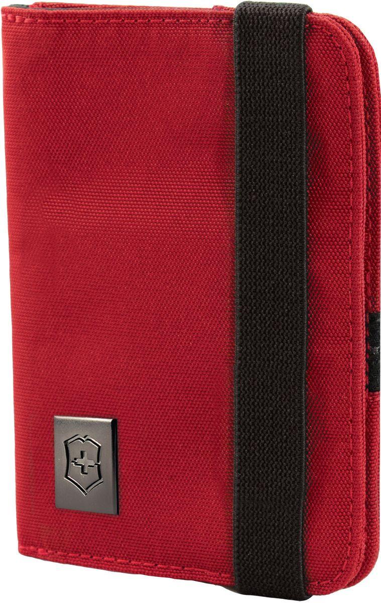 Обложка для паспорта Victorinox, цвет: красный. 3117220331172203Оригинальный швейцарский армейский нож «Swiss Army» был создан в 1897 году в небольшой деревушке Ибах в Швейцарии.С тех пор продукция,выпускаемая под маркой «Victorinox» с ее узнаваемым логотипом в виде креста на щите,по праву считается эталоном отличного качества,высокой функциональности,инновационных технологий и культового дизайна.Наша преданность принципам в течение последних 130 лет позволила нам создавать продукты,которые являются выдающимися не только по дизайну и качеству,но которые также являются надежными спутниками в больших и маленьких жизненных приключениях. Сегодня мы с гордостью представляем линейку сумок,чемоданов и дорожных аксессуаров,которые наилучшим образом воплощают в себе данные принципы,а также сочетают в себе черты нашего лучшего классического стиля. Коллекция Lifestyle Accessories 4.0 включает в себя широкий ассортимент решений для путешествий и повседневной жизни.Независимо от пункта назначения данные высоко-практичные аксессуары станут...