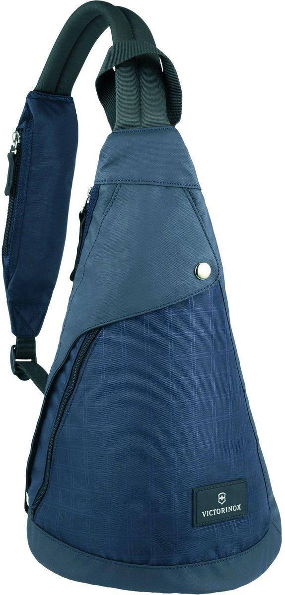 "Рюкзак с одним плечевым ремнем Victorinox ""Monosling"", цвет: синий. 32388809"