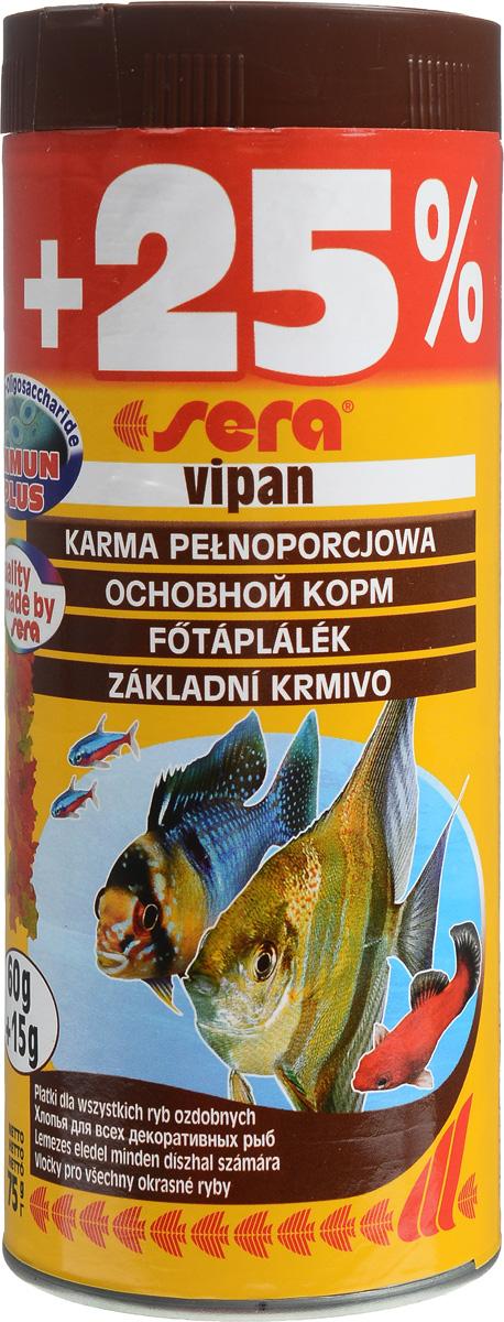 Корм Sera Vipan, для декоративных рыб, в виде хлопьев, 312,5 мл (75 г)15958_75Основной корм Sera Vipan, состоящий из хлопьев, предназначен для декоративных. Сбалансированный состав удовлетворит потребности множества видов. Благодаря бережной обработке сохранены ценные компоненты (МОС, бета-глюкан, жирные кислоты Омега, витамины, минералы, микроэлементы, вторичные растительные вещества и многие другие). Метод его приготовления позволяет хлопьям сохранять свою форму в течение длительного времени, не загрязняя воду. Результатом питания такого корма являются яркий окрас, здоровый рост, сильная иммунная система и жизнеспособность. Состав: рыбная мука, пшеничная мука, пивные дрожжи, казеинат кальция, гаммарус, цельный яичный порошок, жир из печени рыбы, маннанолигосахариды (МОС 0,4%), спирулина, растительное сырье, люцерна, крапива, мука из зеленых губчатых моллюско, морские водоросли, петрушка, паприка, шпинат, чеснок, морковь. Качественный состав: протеин - 46,2%, жиры - 8,9%, клетчатка -...