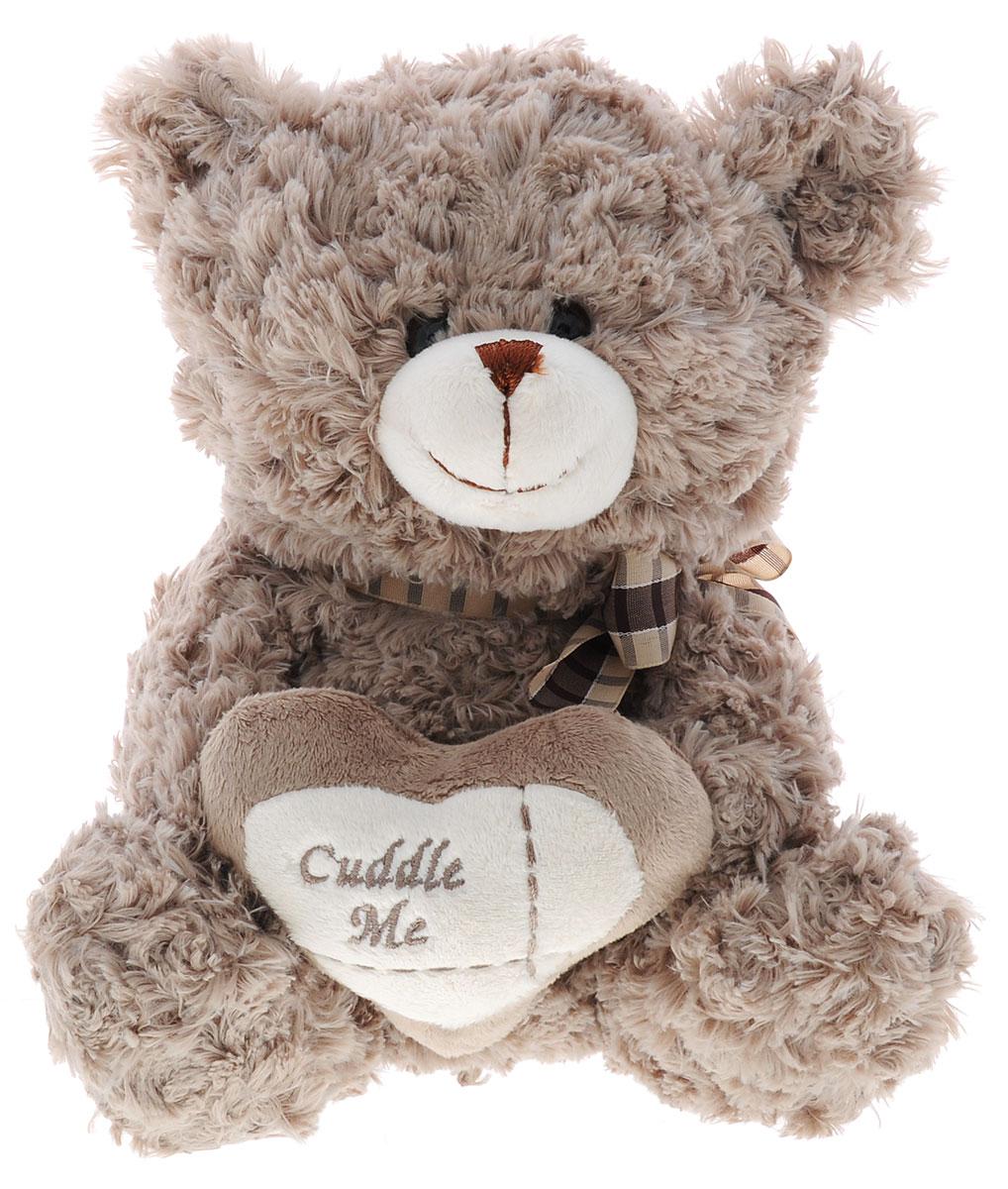 Soomo Мягкая игрушка Медведь Сердечный цвет тауп 22 смSZ9332/9.5Мягкая игрушка Soomo Медведь Сердечный непременно вызовет положительные эмоции и улыбку у каждого, кто ее увидит. Игрушка изготовлена из безопасных, приятных на ощупь материалов в виде очаровательного медвежонка. У игрушки небольшие пластиковые глаза, а в лапках медвежонок держит сердечко. Симпатичная игрушка будет радовать вашего ребенка, а также способствовать полноценному и гармоничному развитию его личности.