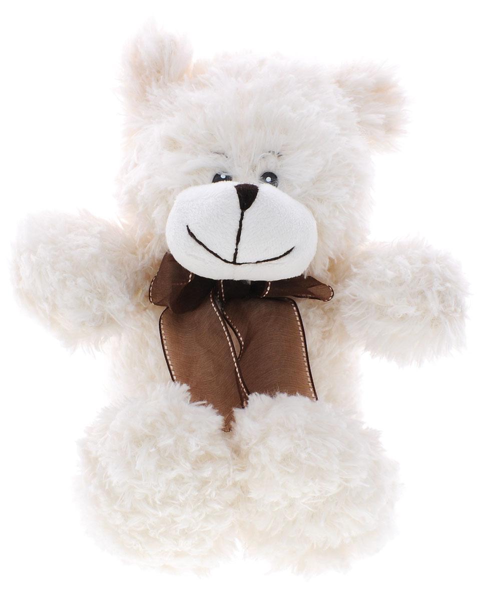 Soomo Мягкая игрушка Медведь Эйнар 23 смKA3480-1/9.5Игрушка Soomo Медведь Эйнар, выполненная в виде медвежонка с коричневым бантиком на шее, очарует не только ребенка, но и взрослого. Игрушка изготовлена из искусственного меха и трикотажных материалов с набивкой из 100 % синтепона. Мягкая игрушка Soomo Медведь Эйнар поможет любому человеку выразить свои чувства и преподнести незабываемый, оригинальный подарок своим близким и любимым.