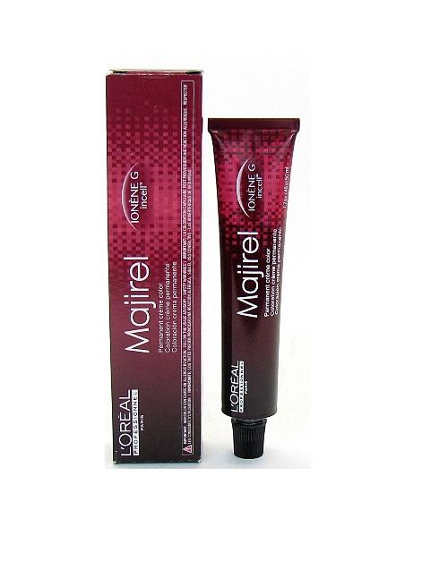 LOreal Professionnel Стойкая крем-краска для волос Majirel, оттенок 6.8 Темный блондин мокка, 50 мл