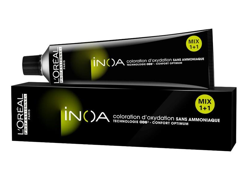 LOreal Professionnel Краска для волос Inoa ODS2, оттенок 9.33 Очень светлый блондин золотистый экстра, 60 млE0598200Краска для волос Inoa ODS2 создана на основе инновационной технологии Oil Delivery System (ODS2 доставка красителя при помощи масла), которая позволяет получить очень стойкие и великолепные яркие, насыщенные цвета. Краситель не содержит аммиака, обеспечивает осветление волос на 3 тона или окрашивание тон в тон, полностью закрашивает седину, абсолютно без повреждения структуры волос. При процессе окрашивания, благодаря уникальной технологии ODS2, краска обогащает специальными активными и защитными элементами структуру каждого волоса, при этом предотвращая потерю цвета и повреждения волос после окончания процедуры. Краситель моментально смешивается с оксидентом, невероятно легко наносится на волосы и не оказывает на кожу головы какого-либо раздражающего или негативного воздействия. Главные достоинства краски для волос INOA это: - Краситель не имеет никакого запаха, не содержит аммиака, не повреждает структуру. - Покрывает седину на 100%. - Позволяет использовать...
