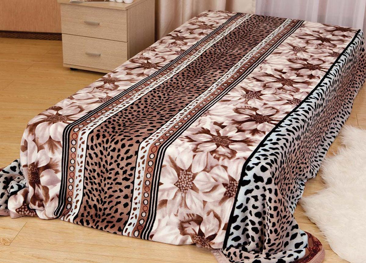 Плед Absolute, цвет: коричневый , 150 х 200 см. 5716257162плотность 300 гр/м2