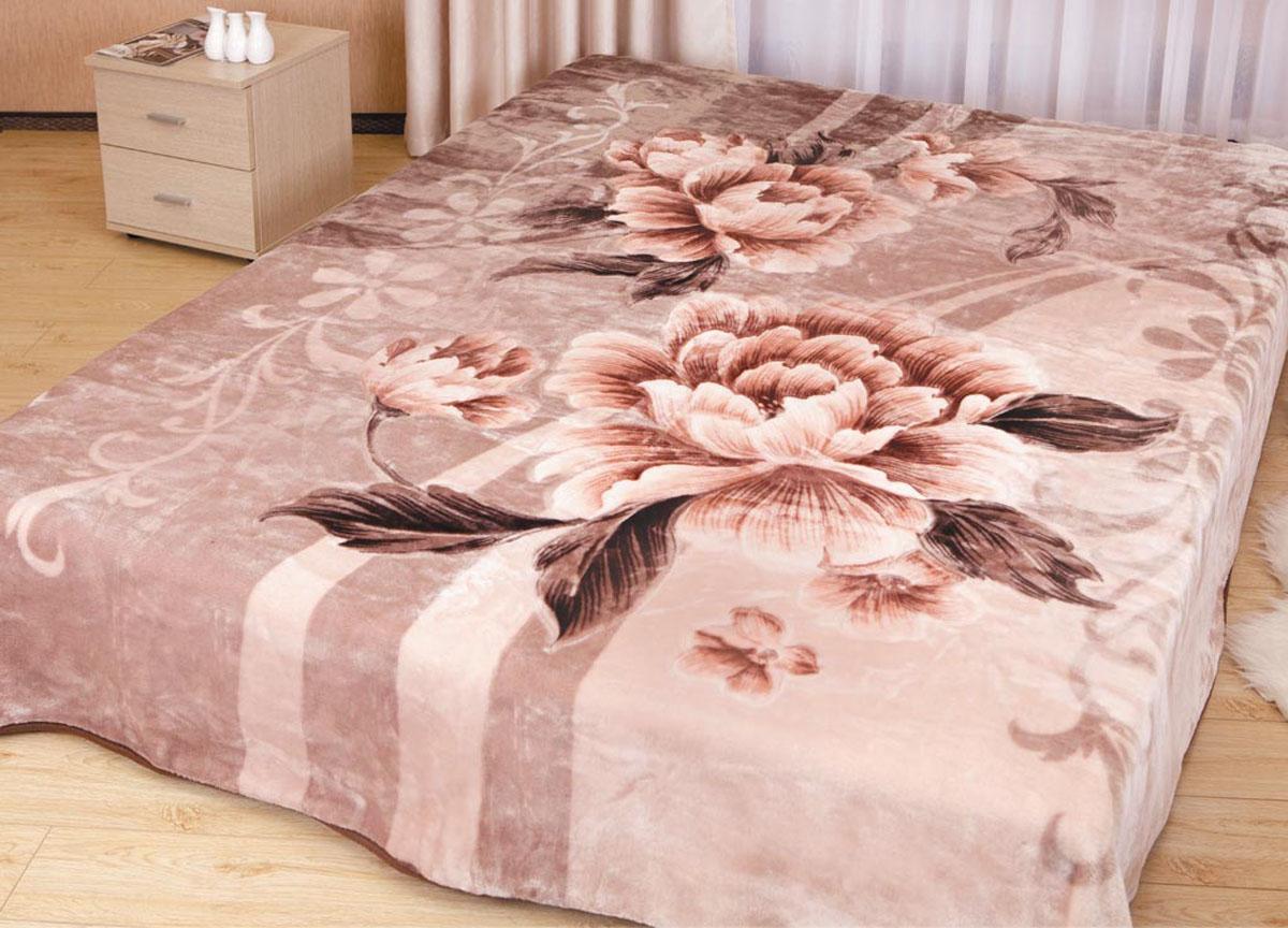Плед Toledo, стриженый, цвет: кремовый, 200 х 240 см. 5838158381плотность 645 гр/м2